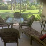 patio furniture set And Two Bar Stool