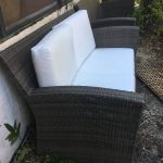 4 PC Rattan Wicker Sofa Set Patio Garden Cushioned Sectional Outdoor Furniture 1