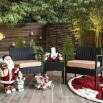 3 PC Rattan Wicker Furniture Table Chair Sofa Cushioned Patio Outdoor Gardening 1