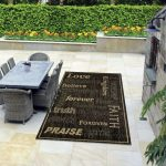 Indoor/Outdoor Rugs Flatweave Contemporary Patio, Pool, Camp and Picnic Carpets