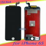 """For iPhone 6S 4.7"""" Black LCD Display Touch Screen Digitizer Assembly Replacement"""