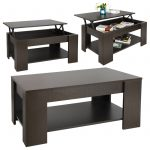 Lift Top Coffee Table w Hidden Compartment Storage Shelf Living Room Furniture 1